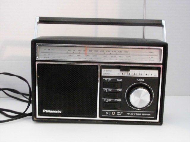 Vintage Panasonic Transistor Radio Rf 590 Excellent Transistor Radio Old Radios Portable Radio