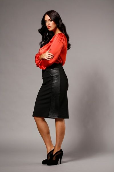 Leather Skirt Plus Size - Dress Ala