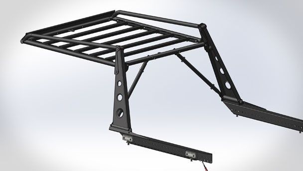 Adv Rack System Tacoma Truck Flatbeds Truck Roof Rack