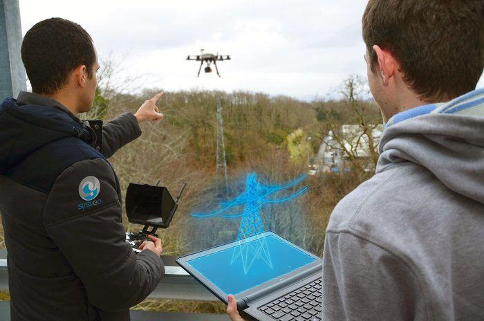 Drones y realidad aumentada en ingeniería y arquitectura