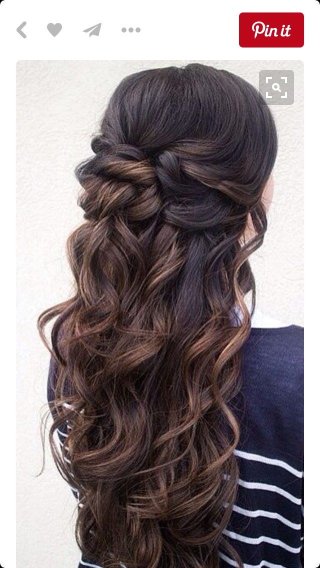 Pin By Kylie Owens On Prom Pinterest Prom Hair Hair Styles And Hair