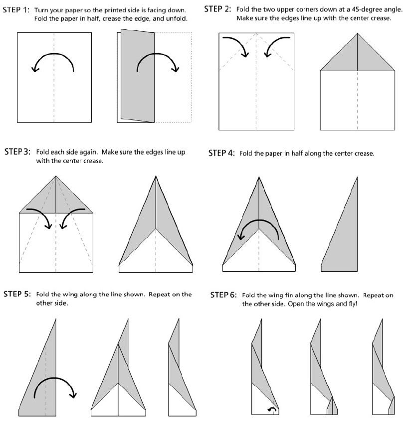 How Do You Make A Good Paper Airplane Step By Mycoffeepot Org
