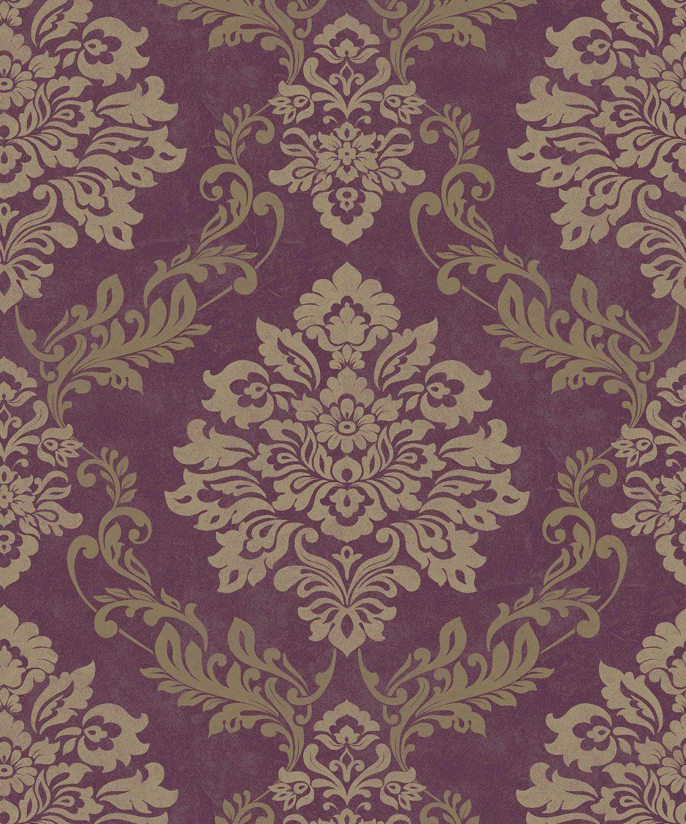 Arthouse Palazzo Mulberry Wallpaper 290401 Italian