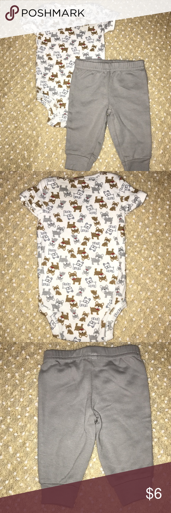 Puppy carterus outfit newborn smoke free smoking and shapes