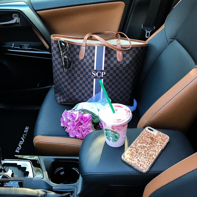 Let S Go Places Toyota Rav4 Review Stephanie Pernas In 2020 Barrington Gifts Barrington Bag Cute Car Accessories