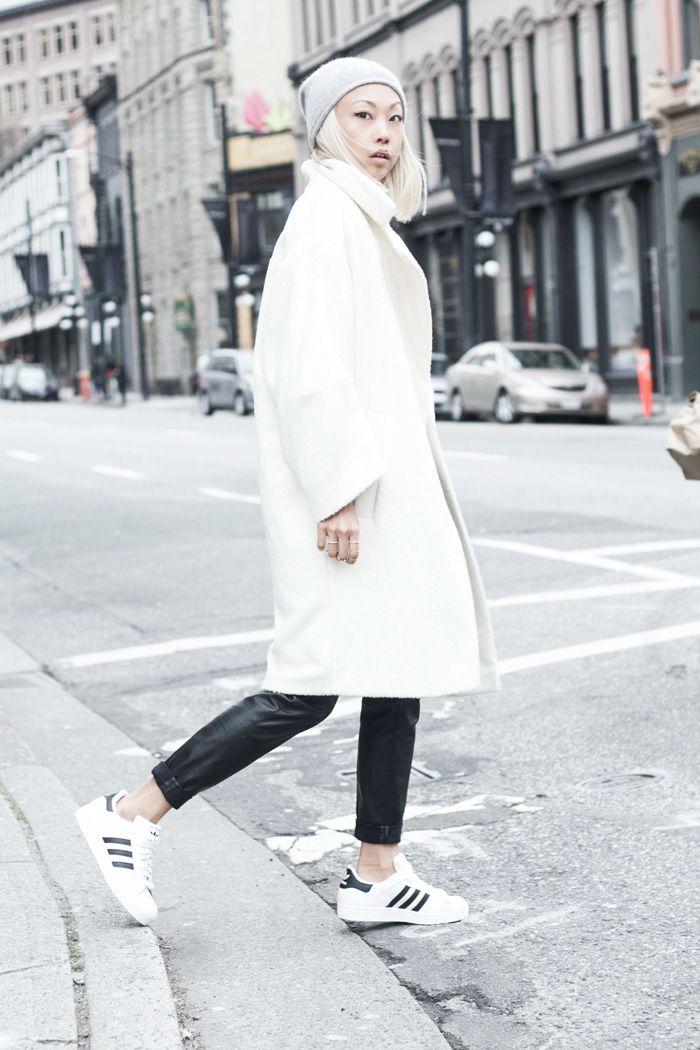 Adidas Superstar Shoes | The Haute Pursuit | Idées de mode, Idées ...