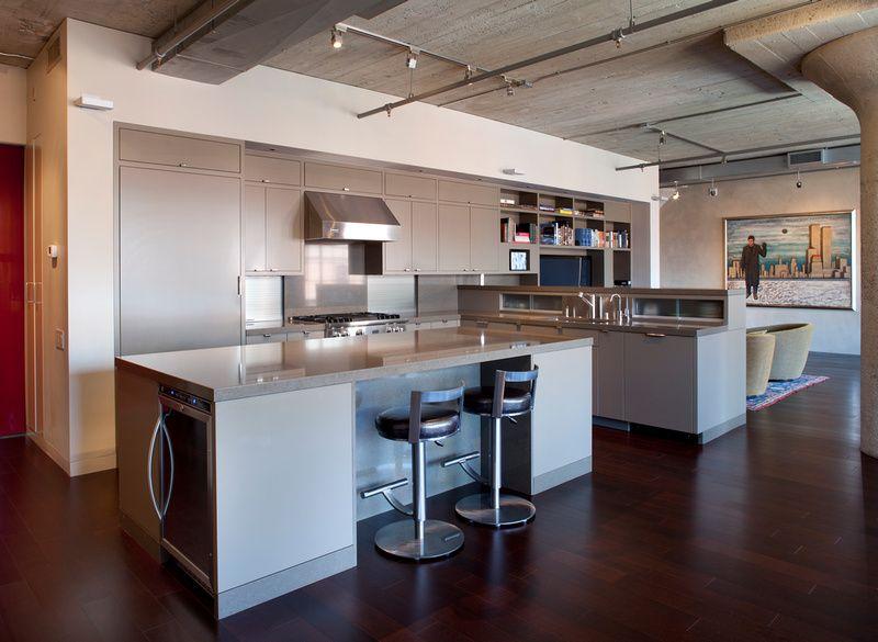 1000 images about cuisine on pinterest black pendant light cabinets and modern kitchens - Cuisine Esprit Loft Industriel