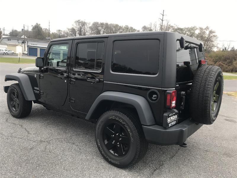 2016 Jeep Wrangler Unlimited Sport 4WD Wrangler