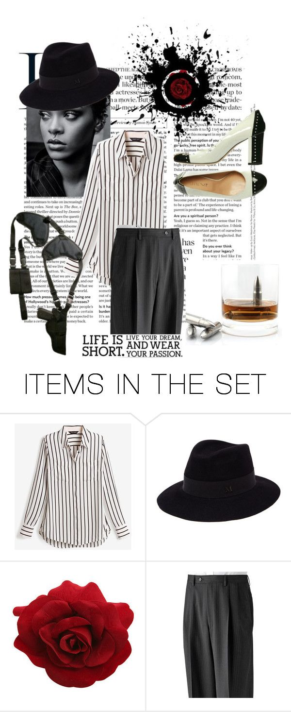 """""""gangster"""" by oksigeen ❤ liked on Polyvore featuring art"""