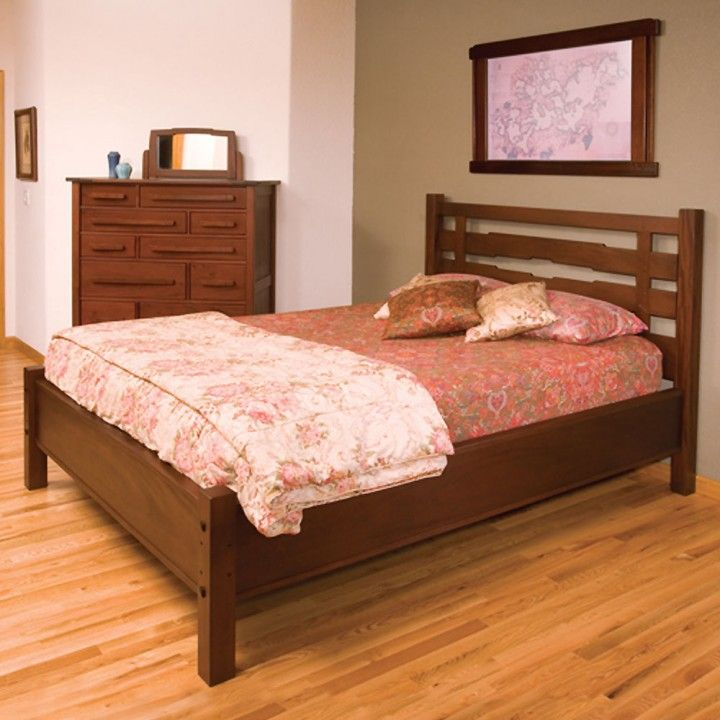 greene and greene king size headboard Google Search