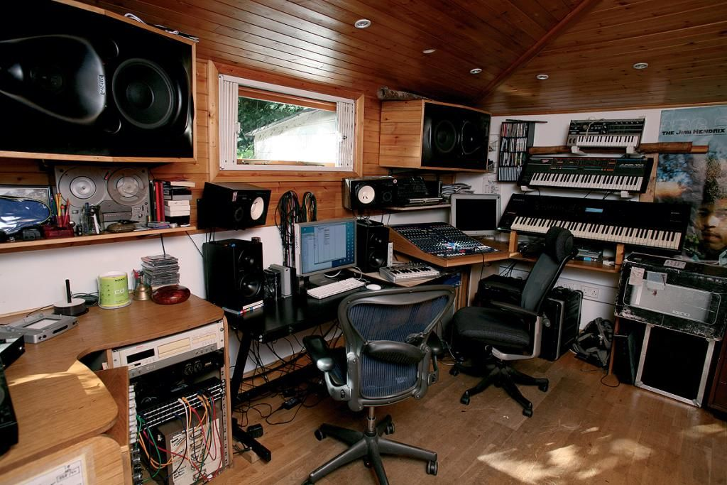 Music Studio From Creating The Perfect Home Office Artistic Studios