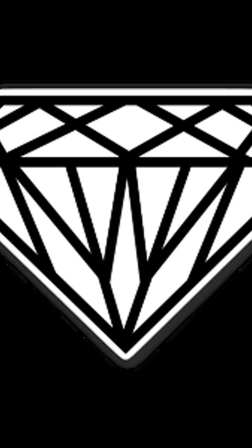 White Diamond Sticker In 2021 Cartoon Stickers Stickers Stickers Stickers