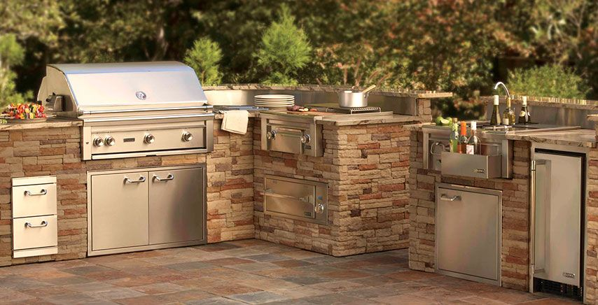 Home Lynx Professional Grills Sedona By Lynx Smartgrill Premium Outdoor Kitchens Outdoor Kitchen Appliances Outdoor Kitchen Kitchen Pictures
