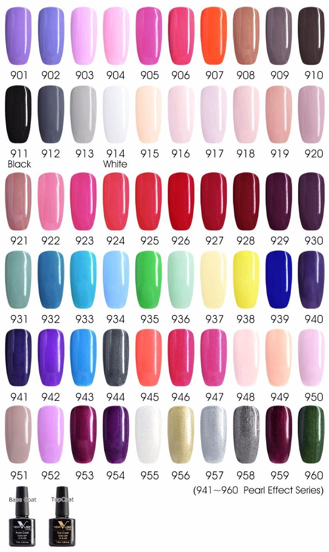 Venalisa Gel Polish 62pcs 7 5ml Canni Nail Art Salon Manicure Wholesale Soak Off Base No Sticky Topcoat Uv Led Nail Polish Gel Nail Art Designs Nail Art Salon