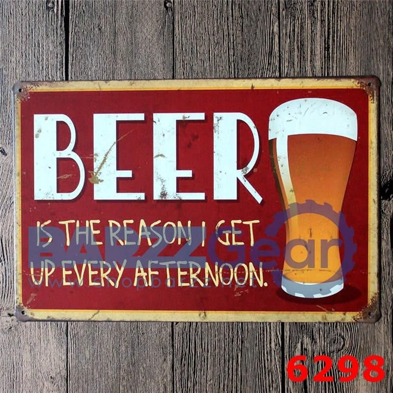 Vintage Metal Sign Everyone Needs Ice Cold Etc Pub Wall