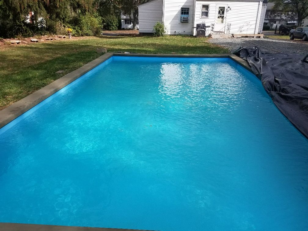 4 Deep Diy Exercise Pool Built By Dan S In Ct With Coaching Help From Custom Built Spas Custombuiltspas Building A Pool Hot Tub Spa