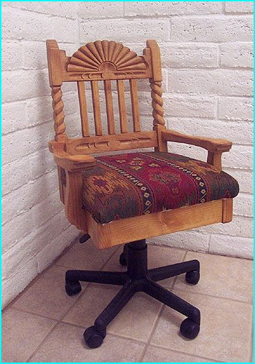 Great Southwest Custom Office Chair