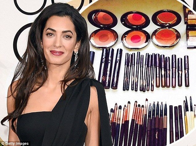 Amal Clooney Golden Globes Face