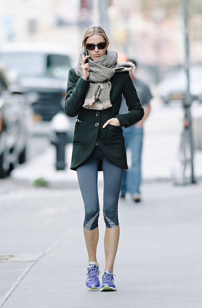 Karolina Kurkova sporty chic | Casual street style, Sporty ...
