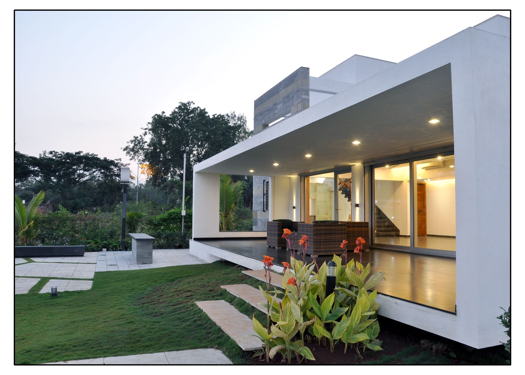 Architecture and interior design projects in India - Weekend Home ...