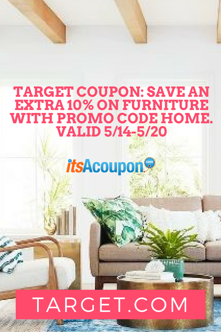 Target Save An Extra 10 On Furniture With Promo Code Home Valid 5 14 20
