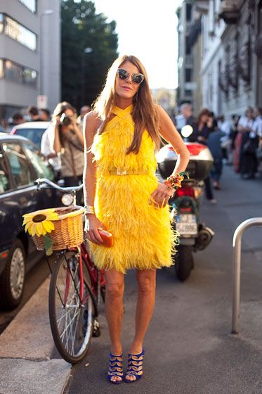 Milan Fashion Week Street Style Anna Dello Russo|Lela London – Style Guide and Fashion Blog