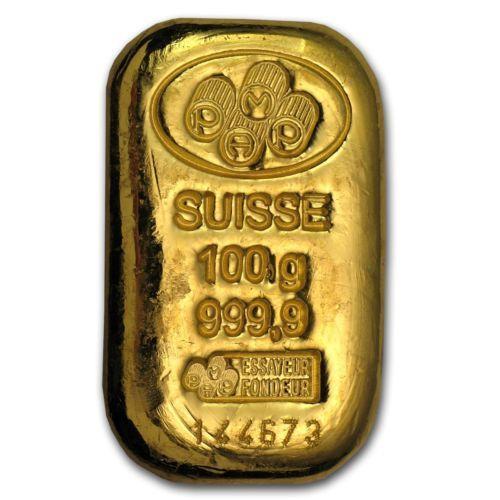 100 Gram Pamp Suisse Gold Bar With Assay Card Sku 45792 Gold Bullion Coins Buy Gold Online Gold Bars For Sale