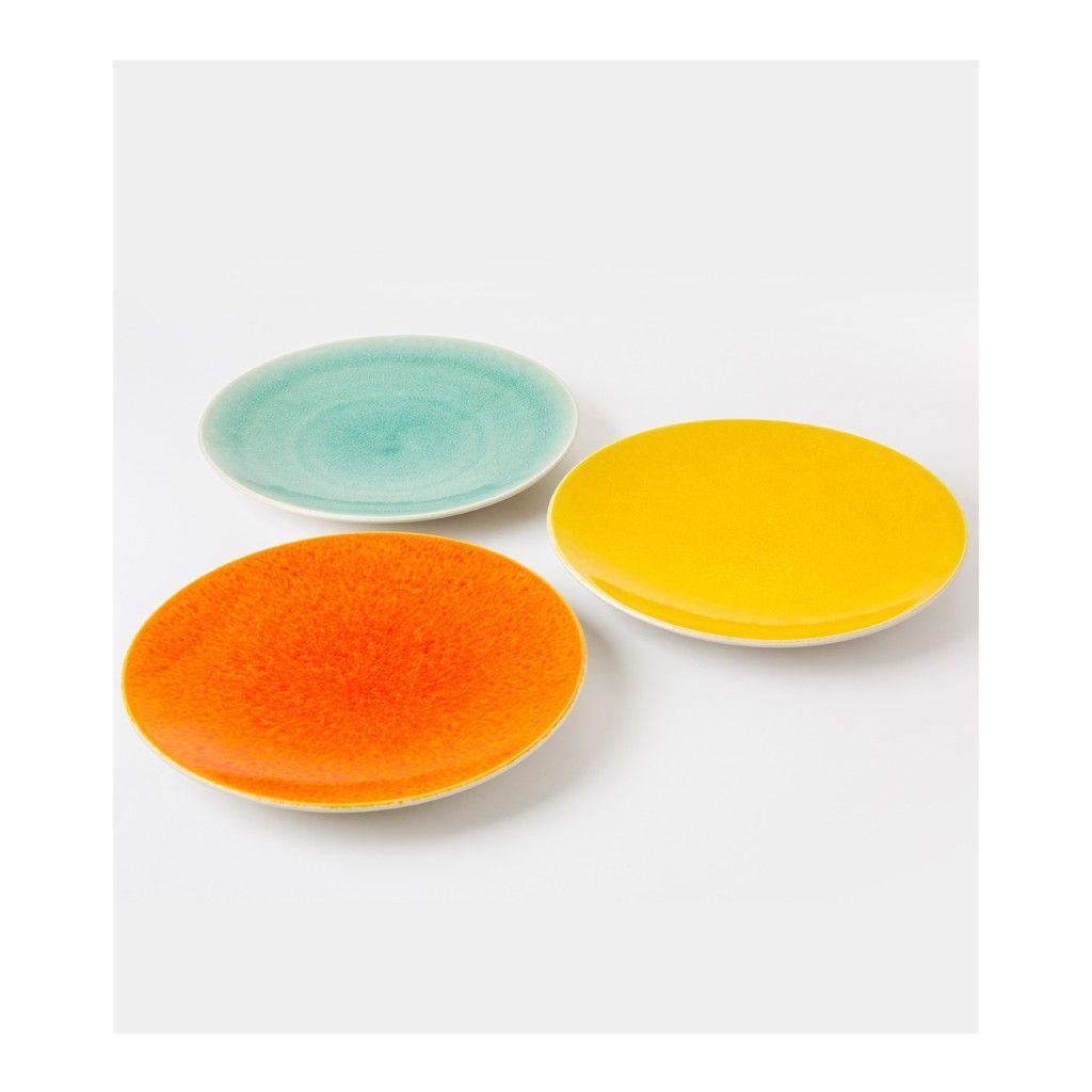 assiette de table tourron orange 26cm jars soldes the conran shop objets table jar et. Black Bedroom Furniture Sets. Home Design Ideas