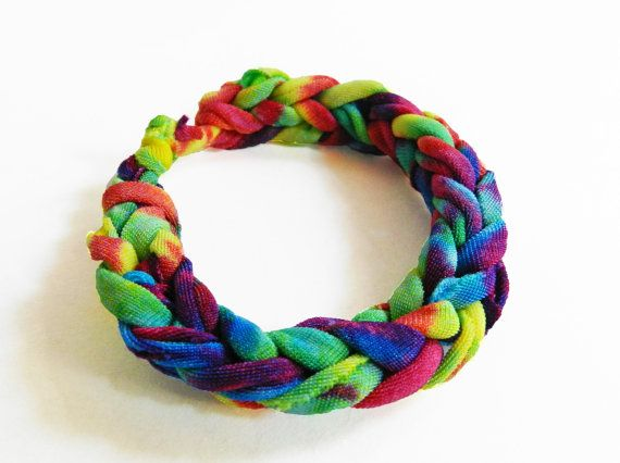 Fabric Bracelet Woven Knitted Cloth