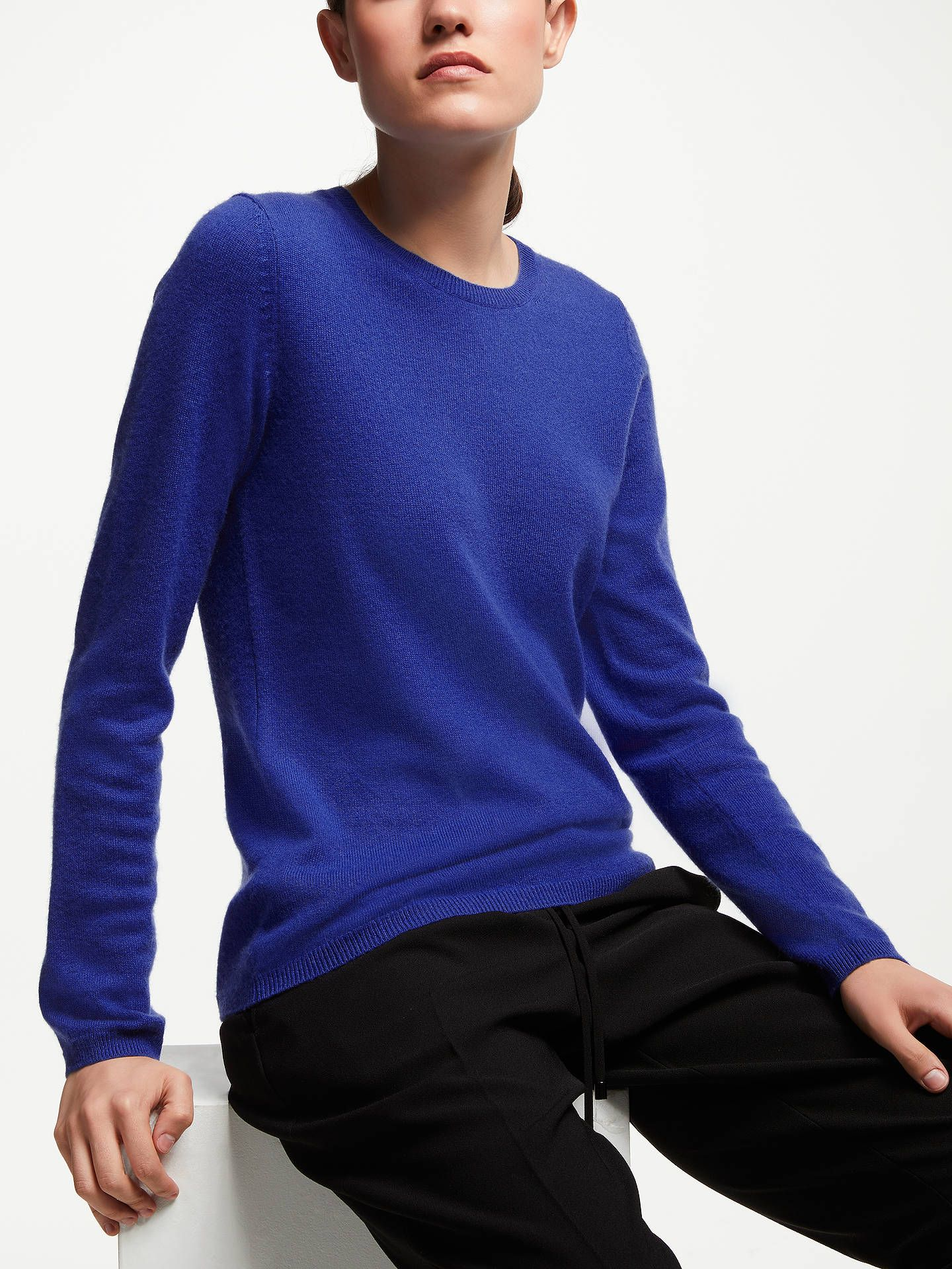 John Lewis   Partners Cashmere Crew Neck Sweater at John Lewis   Partners 6ba6c9933