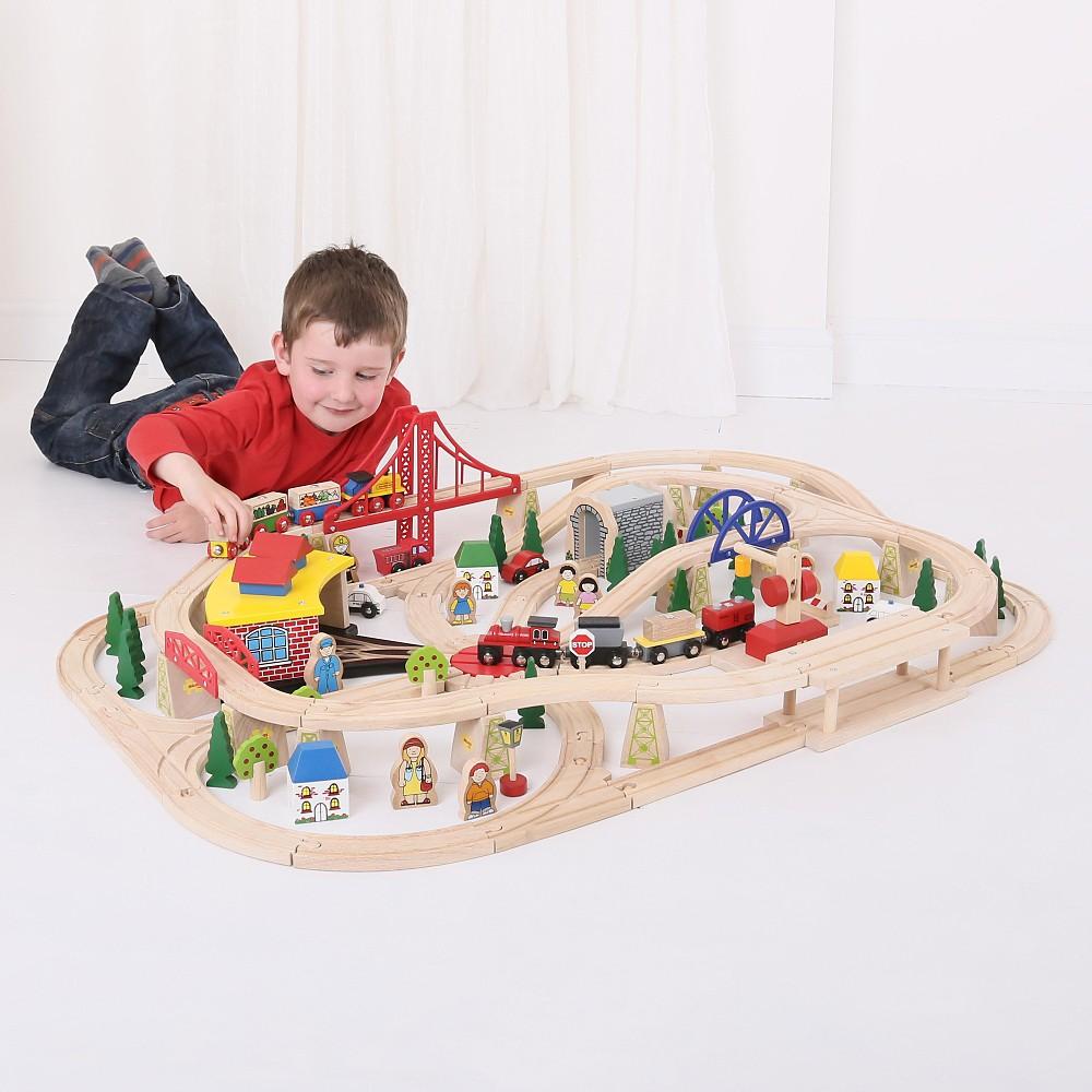Freight Train Set, Toy Vehicle Playsets Train set