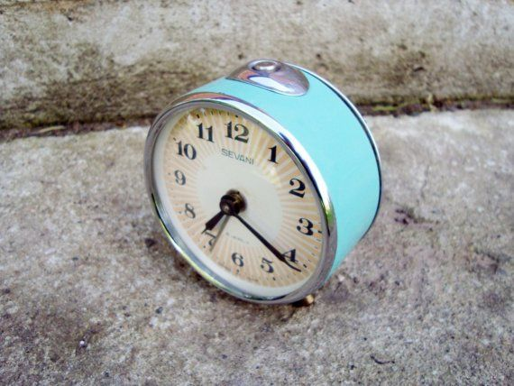 Vintage mechanical alarm clock Sevani from by ...