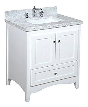 30 Inch White Bathroom Vanity BEDROOM FURNITURE Pinterest