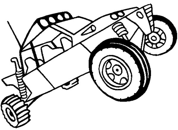 Dune Buggy Off Road Coloring Page Off Road Car Car Coloring Pages