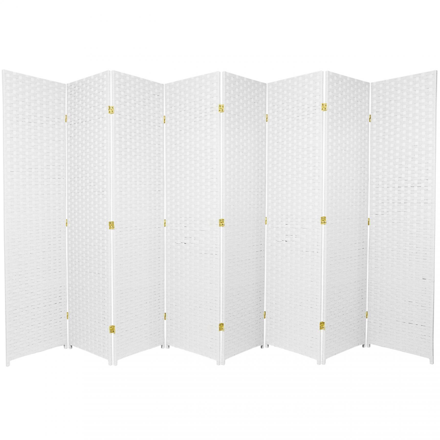 ft tall woven fiber room divider roomdividerideasbookshelves
