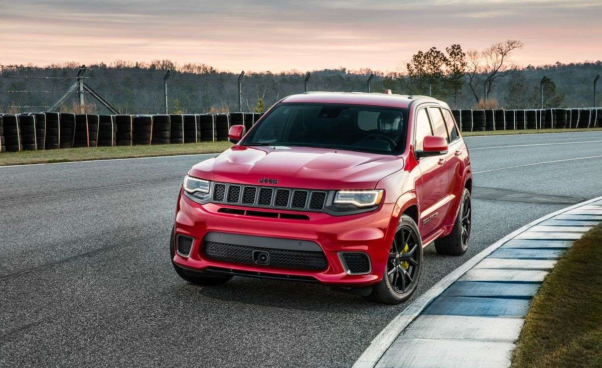 1 Jeep Grand Cherokee Trackhawk 707 Hp Jeep Jeep Grand