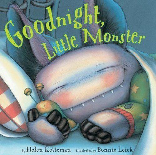 Goodnight, Little Monster by Bonnie Leick, http://www.amazon.com/dp/B007TXVA7S/ref=cm_sw_r_pi_dp_wukntb0J4DEQG