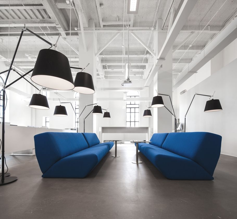 Interior Design Office Montreal: Office Design For Blue Communications, Montreal, Canada