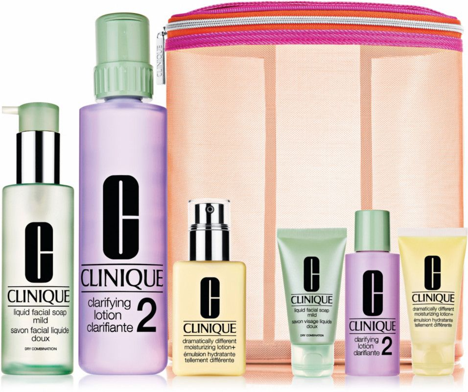 Clinique Great Skin Everywhere Set For Drier Skins Ulta