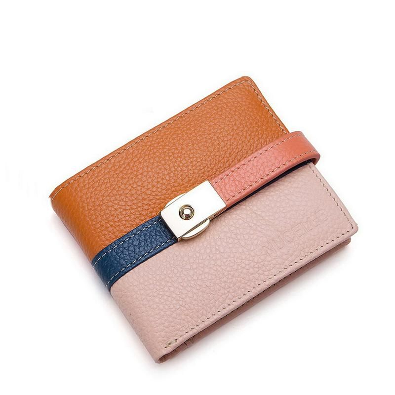 2014 new authentic leather wallet purse Miss Han Ban European and American fashion leather short wallet 1 388,10 руб.