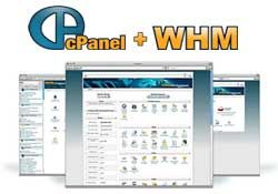 cPanel and WHM Reseller Hosting Screenshot