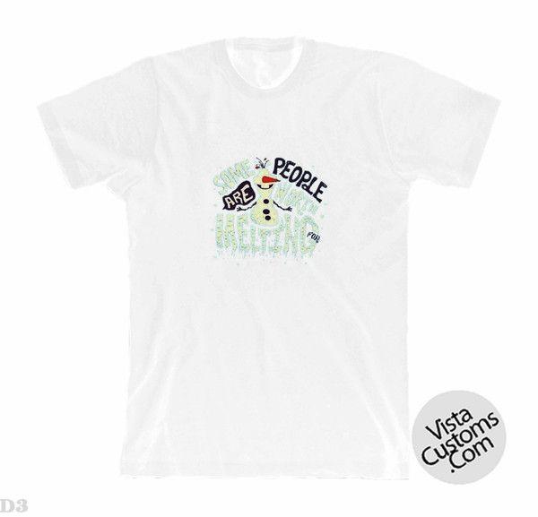 frozen disney quotesNew Hot White T-Shirt