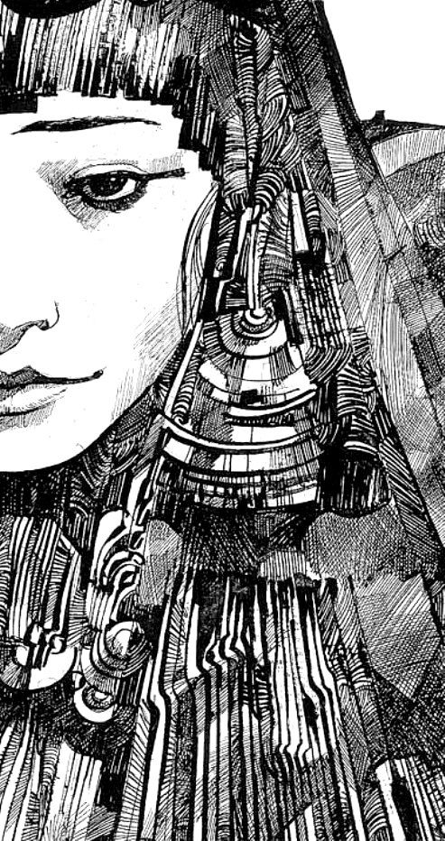 Sergio Toppi...love those lines, lines, lines///