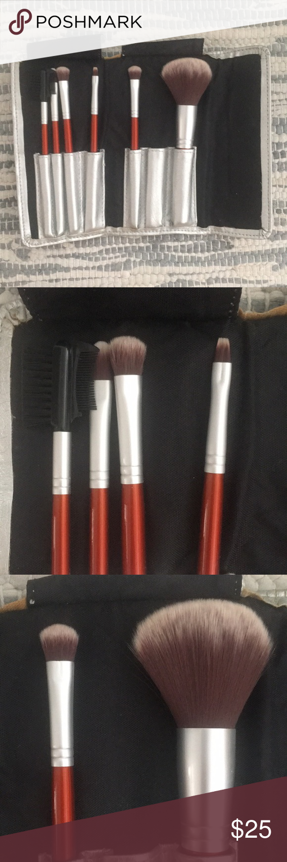 Sephora antibacterial brush set Antibacterial brush set