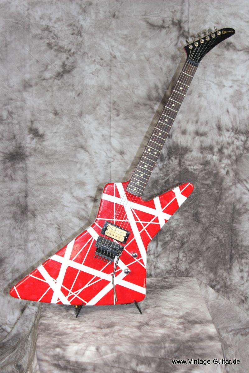 Img Vintage 1464 Charvel Explorer 1980 001 Jpg Classic Guitar Gibson Explorer Guitar Gear