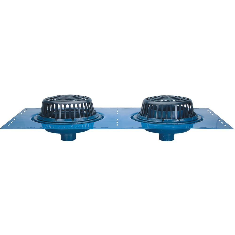 Zurn Z163 Combination Roof Drain and Overflow   rough
