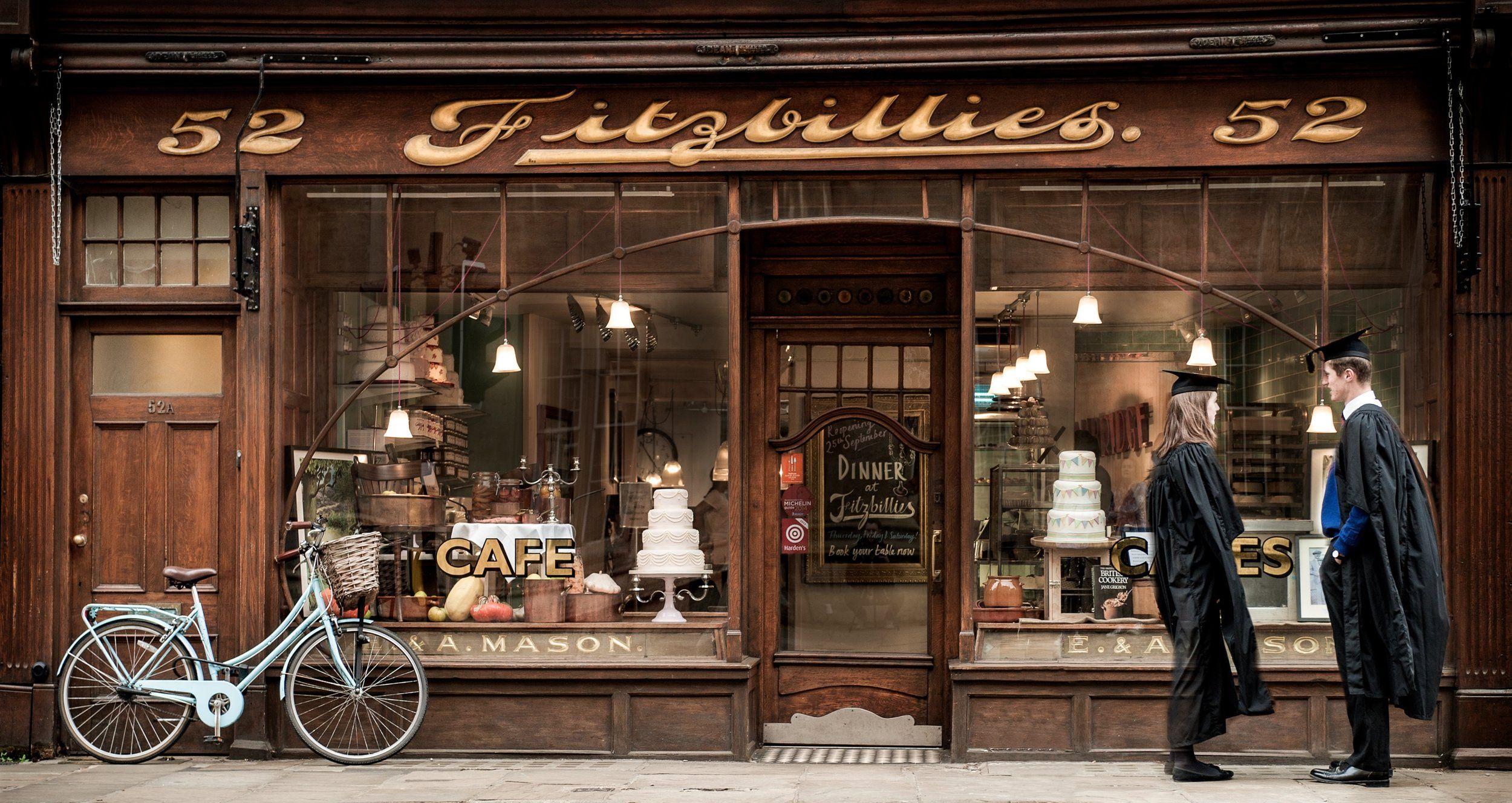 Fitzbillies shop front design cambridge shop house plans