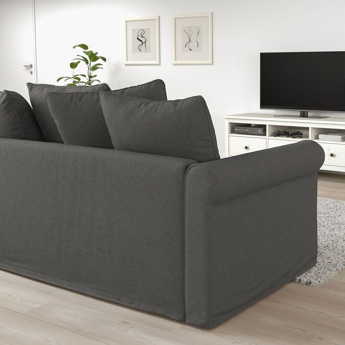 HÄrlanda Sleeper Sofa Ljungen Medium Gray Bed Height 20 7 8