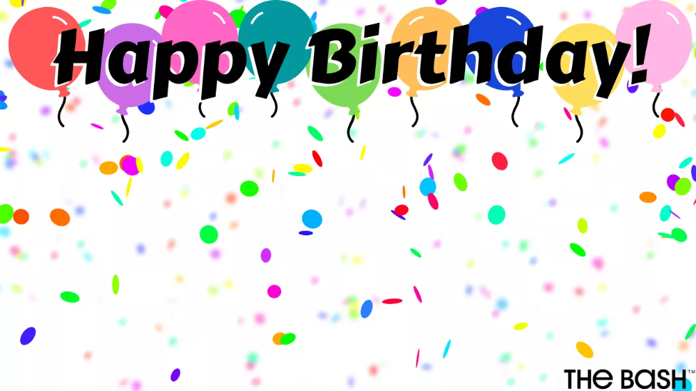 24 Free Zoom Backgrounds To Amp Up Your Virtual Party In 2020 Birthday Background Happy Birthday Posters Happy Birthday Greetings Friends