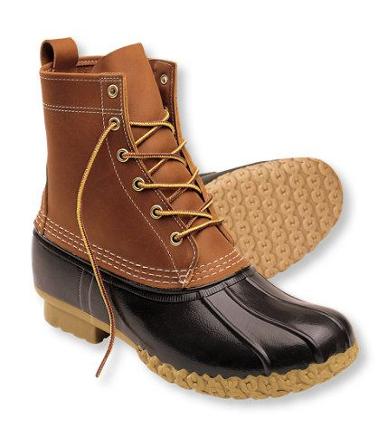 """Men's Bean Boots by L.L.Bean, 8"""": Winter Boots 